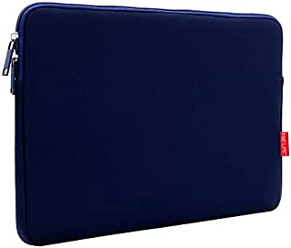 ONE LIFE 15.6 Inch Waterproof Laptop Sleeve Case Compatible with 15.6 Inch HP Dell Sony ASUS Acer Lenovo(15.6 Inch, Navy)