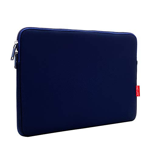 ONE LIFE 15 Inch Waterproof Laptop Sleeve Case Compatible with 15 Inch MacBook Pro HP Dell ASUS ASUS Acer Lenovo Sony (15 Inch, Navy)