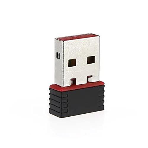 LeftSuper 150Mbps 150M Mini USB WiFi Adaptador inalámbrico Red Tarjeta LAN 802.11n / g/b