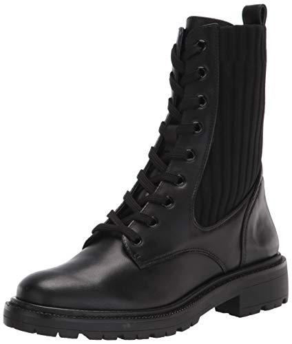 Sam Edelman Women's Lydell Combat Boot Black 9 Medium