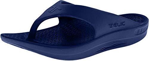Telic Energy Flip Flop - Comfort Sandals for Men and Women   M (Women