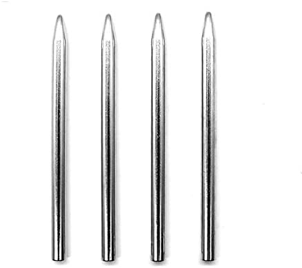 Paracord Lacing Needles Stainless Steel Needles Lacing Stitching Weaving Needles Camping Hiking product image