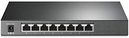 TP-Link TL-SG2008P | Jetstream 8 Port Gigabit Smart Managed PoE Switch | 4 PoE+ Port @62W | Omada SDN Integrated | PoE...