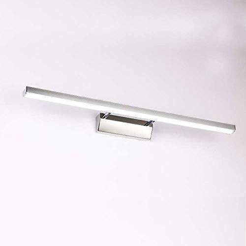 XIAJIA -7W 700LM Lámpara LED de pared, Lámpara de espejo Aplique de Baño LED 400mm 6000K para Espejo Muebles de Maquillaje Aparato Montado en la Pared(Blanco Frío)