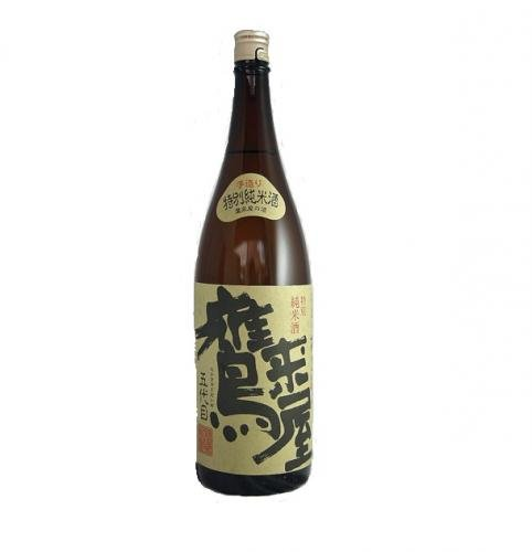 鷹来屋 特別純米酒1800ml