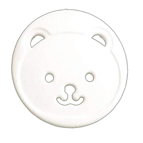 IUwnHceE Couvre Babyproofing Outlet & Secure Safe Prise électrique Protecteurs Robuste pour Childproof Cache Prises en Bas âge Et Les Bébés, 10pcs Blanc - UE Standard