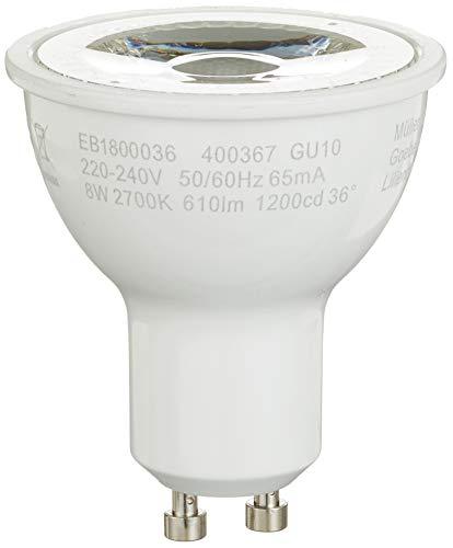 MÜLLER-LICHT 400367 6er-SET LED Reflektorlampe, 8 W, Weiß, 6