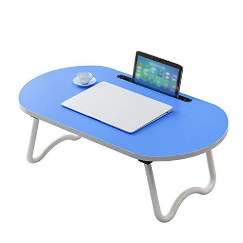 Laptop Bed Tafel Schoot Bureau, Draagbare Bed Lade Tafel Voor Bank en Bank, Ontbijt Dienblad Eettafel, Opvouwbare Slaapzaal Voor Bank Vloer Kind (70 X 40 Cm)