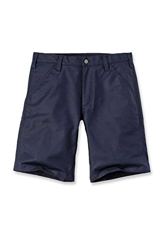Carhartt 103111 Rugged Stretch Canvas Short in Navy, Größe 42