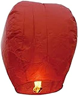 Generic Paper Wish Candle Sky Lantern (Red)