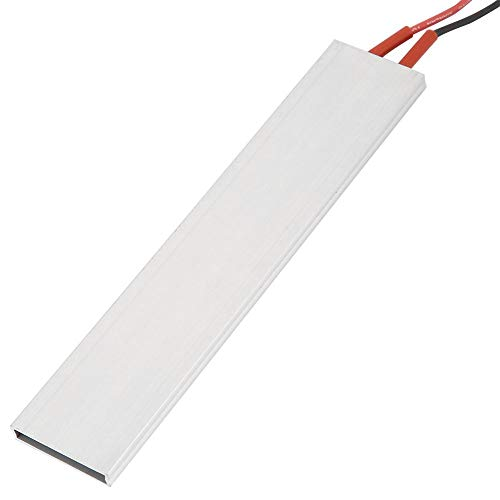 150 × 28,5 mm luchtverwarmer PTC-verwarmingselement plaat met aluminium behuizing thermostatische verwarming 12V/220℃