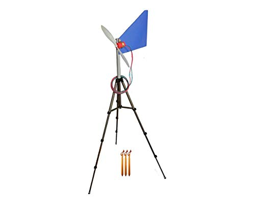 Travel Wind Turbine Generator II Portable Power for RVers, Boaters, Campers, Hunters, Cabin Owners