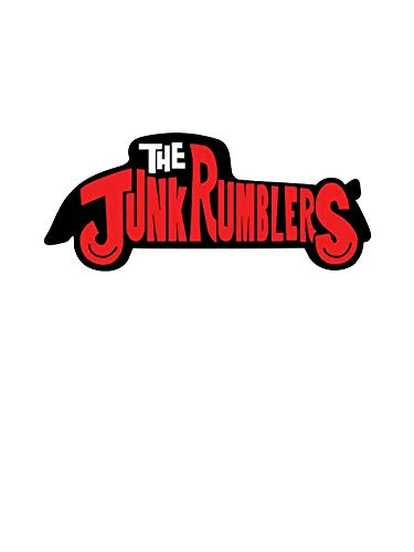 The Junk Rumblers - New Jersey Rockabilly Window Truck Car Vinyl Bumper Sticker Decal 5'' x 4''