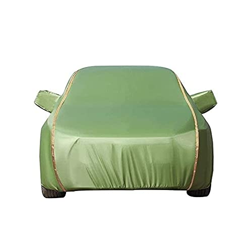 BRFDC Cubre Coches Exterior Compatible con Porsche Cubierta DE Coche Completo PROTECCIÓN UV Impermeable Transpirable Universal al Aire Libre en Todo el Tiempo (Size : Turbo S 4dr Sedan)