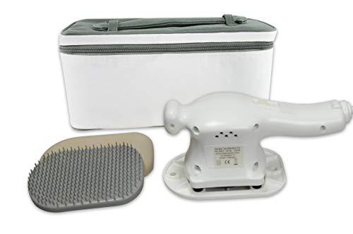 Vibrax Massage-Handgerät Senator Standard 3 D, Flächen-Massagegerät inkl. Aufbewahrungskoffer, Kunststoff-Hyperämisierungsbürste und Moosgummischuh