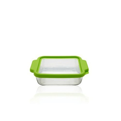 Square Casserole Dish with Lid