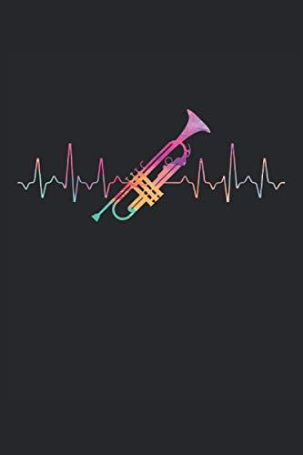 Terminplaner 2021: Terminkalender für 2021 mit Heartbeat Trompete Cover | Wochenplaner | elegantes Softcover | A5 | To Do Liste | Platz für Notizen | für Familie, Beruf, Studium und Schule