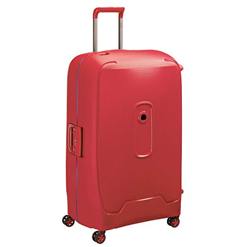 DELSEY PARIS Moncey Koffer, 82 cm, 136 liters, Rot (Rouge Etoiles)