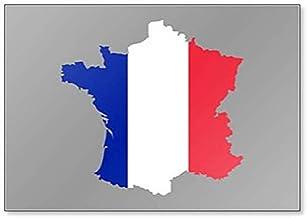 Imán para nevera, diseño de la bandera de Francia