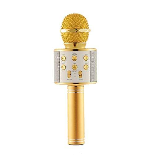 Portable Karaoke Microfoon, Mobiele Telefoon Karaoke Wireless Condensatormicrofoon Audiomachine