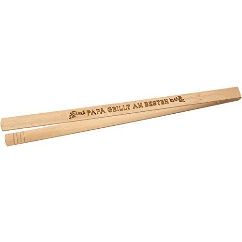 Spruchreif PREMIUM QUALITÄT 100% EMOTIONAL · Grillzange aus Holz mit Spruch · Männergeschenk · Grillwerkzeug für Männer · Geschenke für Männer · Vatertagsgeschenk