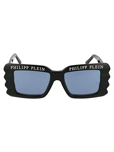Luxury Fashion | Philipp Plein Dames 000WES0088PTE003N0201BLACKWHITE Zwart Metaal Zonnebrillen | Seizoen Permanent