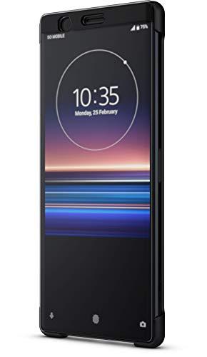 Sony Style Schutzhülle Touch 'Scti30' mit Sichtfenster für Xperia 1, Schwarz