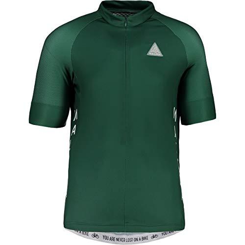 Maloja Plansm. 1/2 technische Jacke für Radsport, Herren XXL grau (Stone Pine)