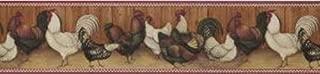 David Carter Brown Chickens Wallpaper Border