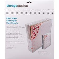 Advantus Crafts Bulk Buy (2-Pack) Storage Studios Paper Holder 12.5 inch x 13 inch x 2.625 inch CH92600