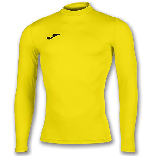 Joma Academy Camiseta Termica, Niños, Amarillo, 6XS-5XS