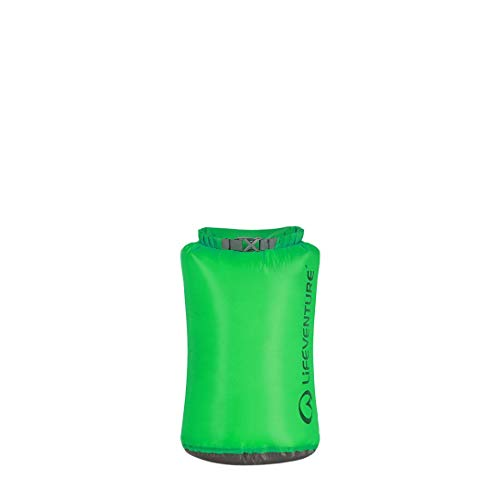 Lifeventure 59630 Ultralight Dry Bag-10L Unisex-Adult, Green