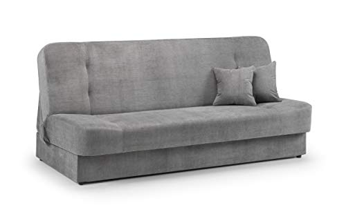 Honeypot - Geneva - Sofa bed - Large Storage - Grey Fabric (Sofabed)