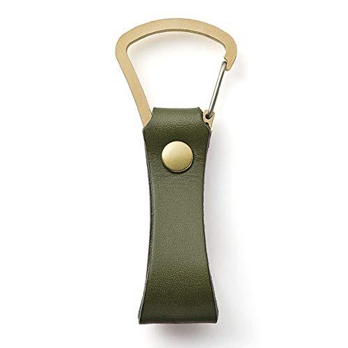 moca(モカ) KEY HOLDER キーホルダー 【オリーブ】 レザー 革 小物 メンズ レディース プレゼント