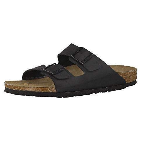 Birkenstock Schuhe Arizona Birko-Flor Schmal Black (051793) 42 Schwarz