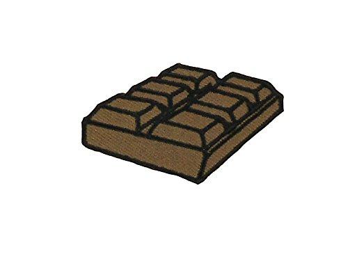 Opnaaier, geborduurd, rugzak, donsjack, naaien, kawaii, tablet, chocolade.