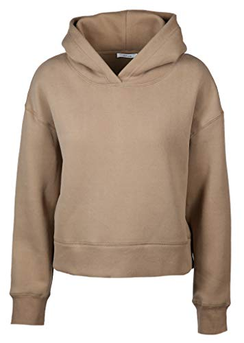 OPUS Damen Sweatshirt Gart mit Kapuze grau (13) 38