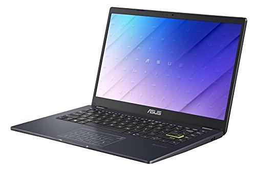"ASUS Laptop L410 Ultra Thin Laptop, 14"" FHD Display, Intel Celeron N4020 Processor, 4GB RAM, 128GB Storage, NumberPad, Windows 10 Home in S Mode, 1 Year Microsoft 365, Star Black, L410MA-DB04"