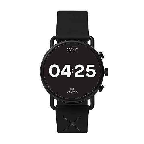 Skagen Smartwatch HR Falster 3 X by KYGO: Tracking der Herzfrequenz, Google Assistant, Smartphone Benachrichtigungen, Aktivitätstracking, Google Pay & GPS