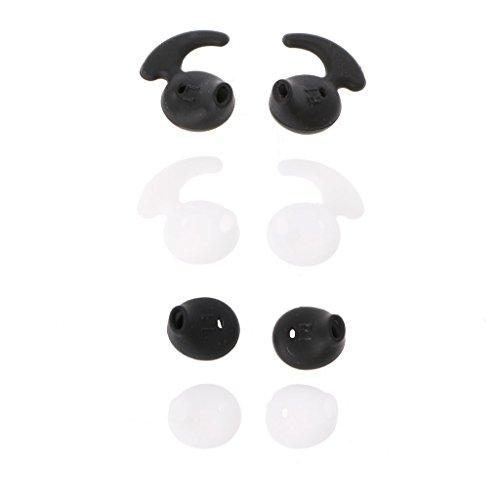 siwetg Silikon-Ohrstöpsel für S6/S7 Level U EO-BG920 Bluetoo-Kopfhörer, Silikon, Weiß, 4 Paar
