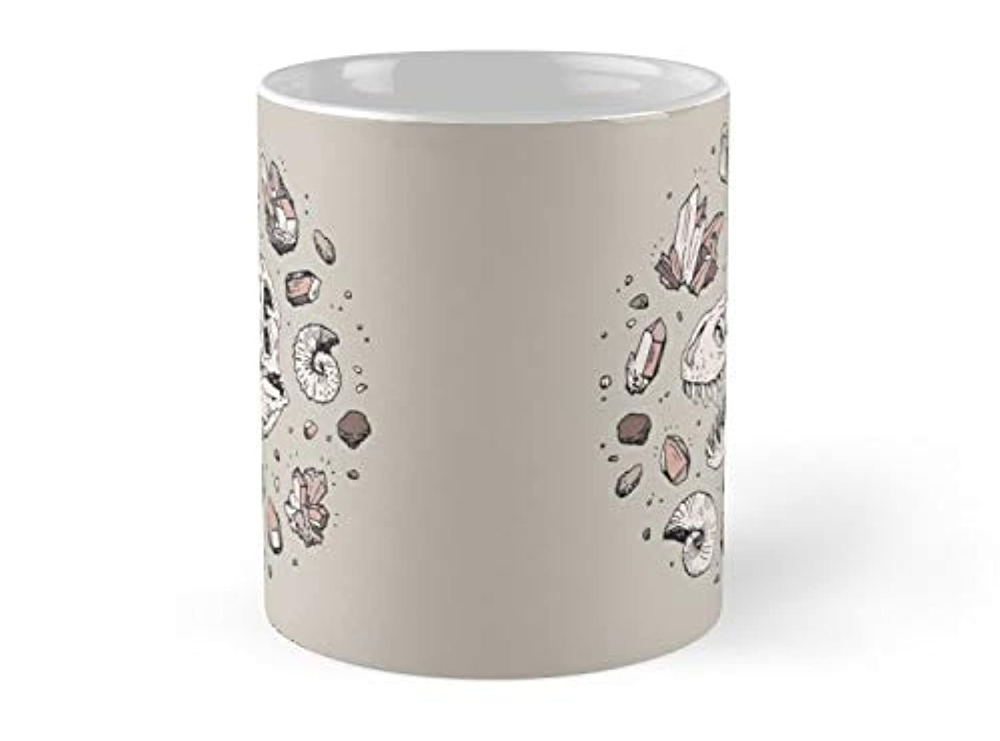 Georex Vortex Rose Quartz 11oz Mug - Best gift for family friends
