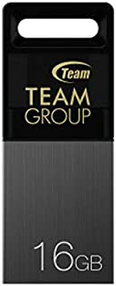 Teamgroup TM15116GC01 M151 Water Proof USB Flash Drive - 16GB - Black (Pack of1)