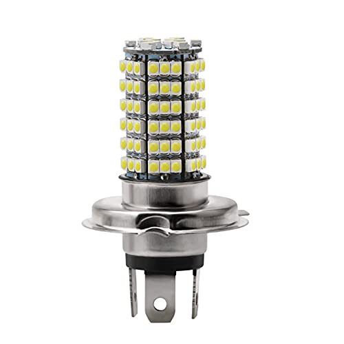 youyu6-2o521 Faros LED H1 H3 H4 H7 H8 H11 9005 9006 Bombilla LED para Luces de Niebla 3528 12 0SMD Blanco DC 12V Lámpara de Cola de Faros de la Motocicleta El Ahorro de energía