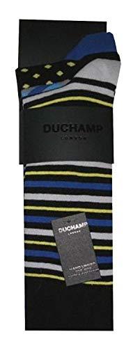 Duchamp London Herren Socken, 3er-Pack, Einheitsgröße, EU 40-45