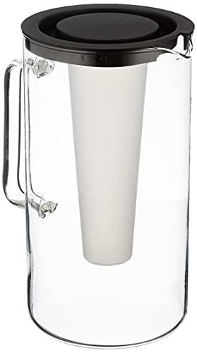 Bohemia Cristal Simax - Caraffa con cestello portaghiaccio, 2 Litri