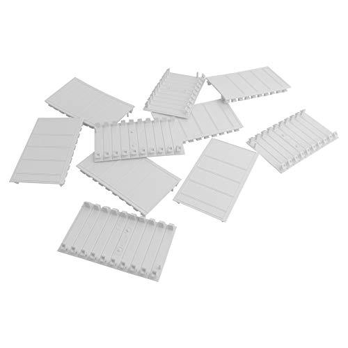 10Stk. Abdeckstreifen Blindstreifen 5 Module für Verteilerkasten Stromverteiler 5M DV-0694-ABD5-10 0694