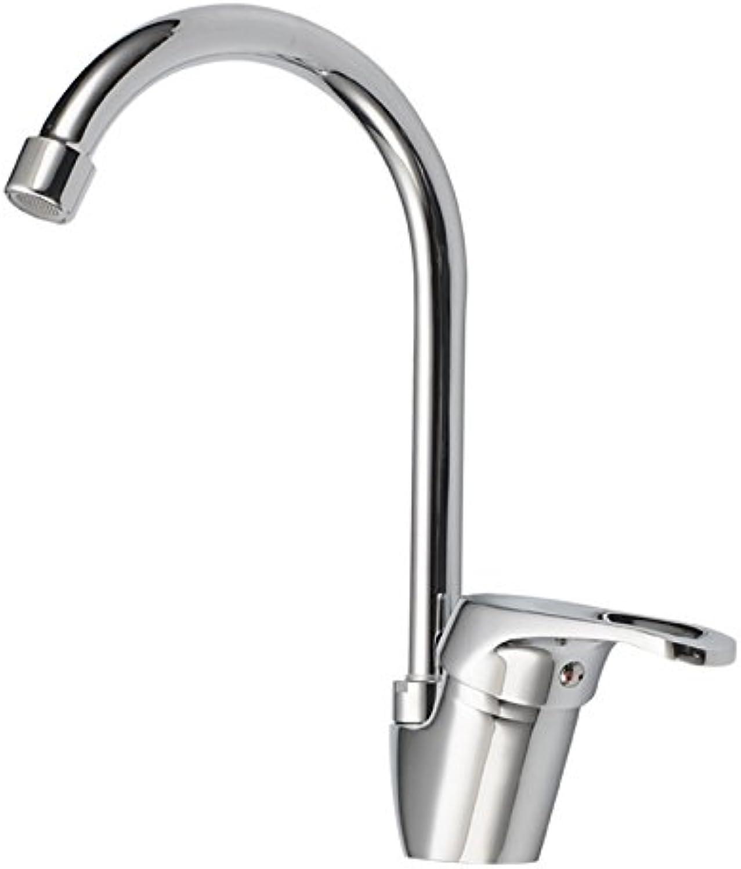 Gyps Faucet Waschtisch-Einhebelmischer Waschtischarmatur BadarmaturDie Küche kalt- und Einzigen Griff hoch - Werfen Sie Gerichte und Waschbecken Waschbecken Wasserhahn schwenken