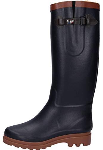 Aigle Aiglentine Fur, Stivali di gomma Donna, Blu (Marine Ambre Nuovo), 37 EU