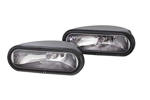 HELLA 1NA 008 284-801 FF/Halogène-Kit de projecteurs antibrouillard - FF 75 - 12V - Montage en saillie - Couleur du voyant: limpide - gauche/droite - Kit - Quantité: 2