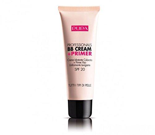Pupa Milano Professionals BB Cream Plus Primer LSF 20–001 Nude – alle Hauttypen für Frauen 48,9 g Make-up